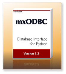 mxODBC 3.3 - ODBC Database Interface for Python