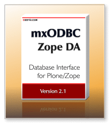 mxODBC Zope DA 2.1 - ODBC Database Interface for Plone/Zope